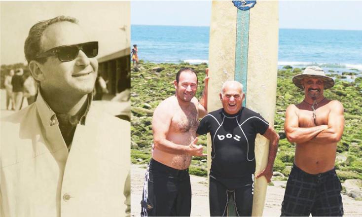 """El surf peruano de luto: Muere la leyenda Federico """"Pitty"""" Block"""