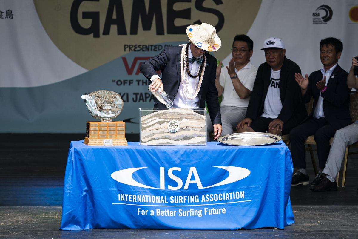 """""""Un mundo mejor a través del surf"""", el nuevo lema de la ISA"""